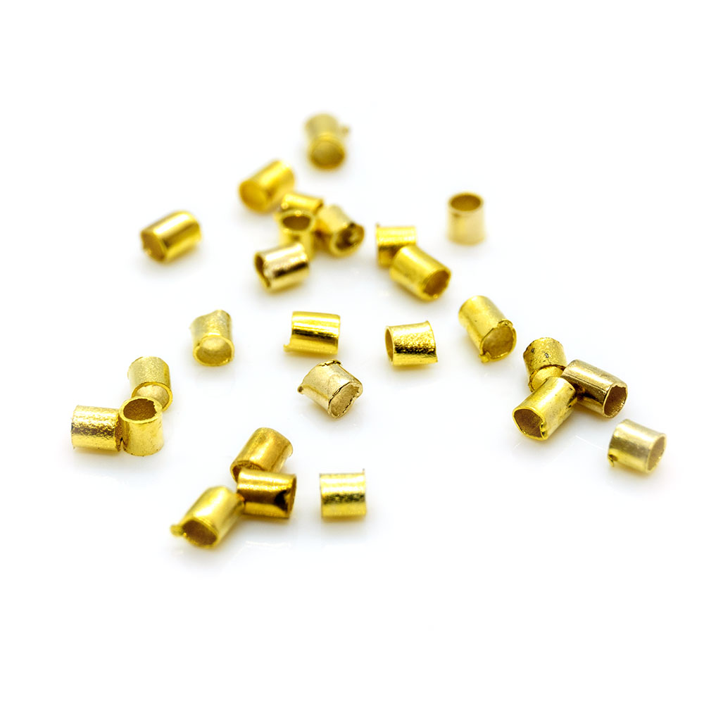 Crimps - 1.5mm - 100pc