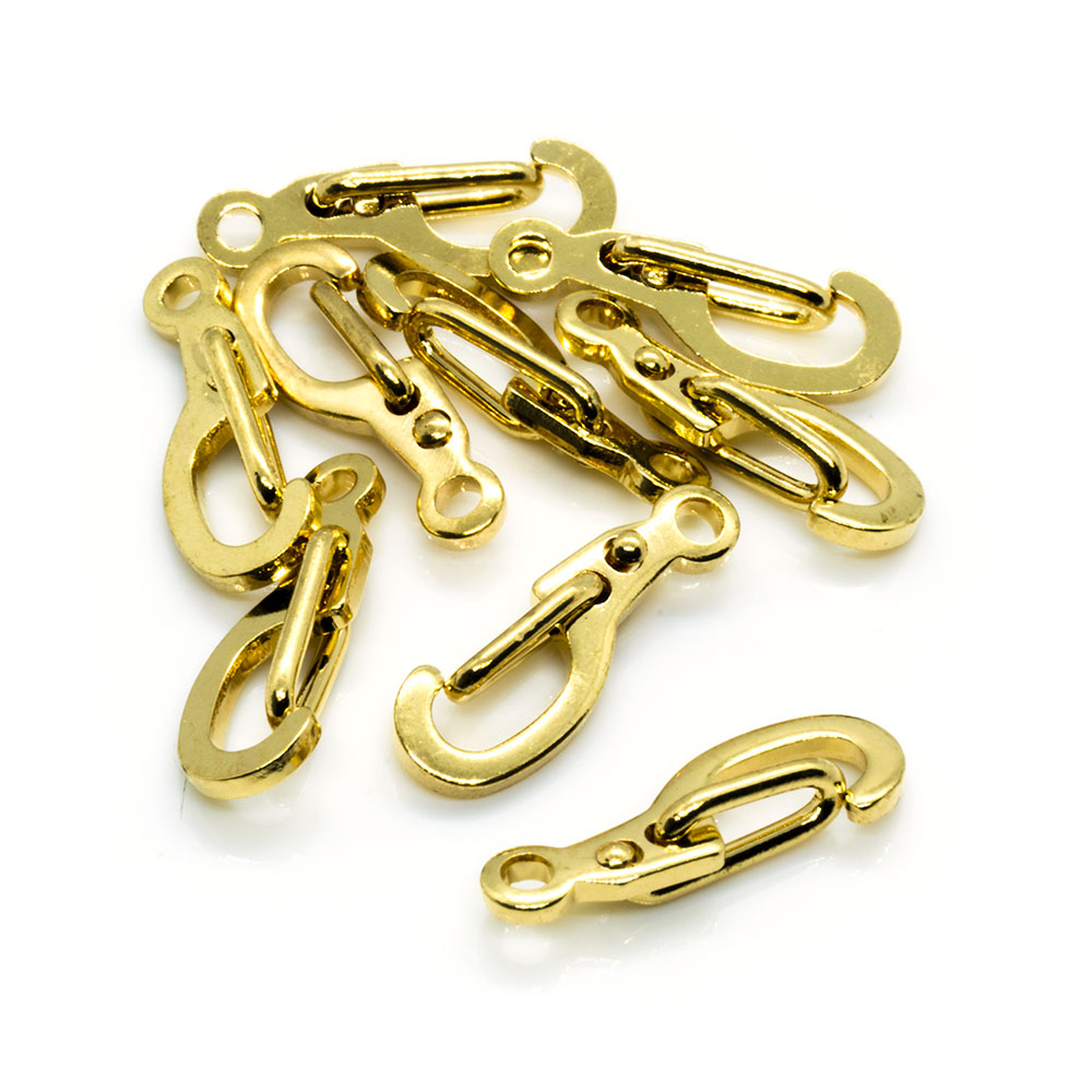 Self-Closing Clasps - 15mm - 20pc