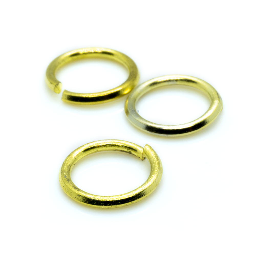Jump Rings Round - 7mm - 20pc