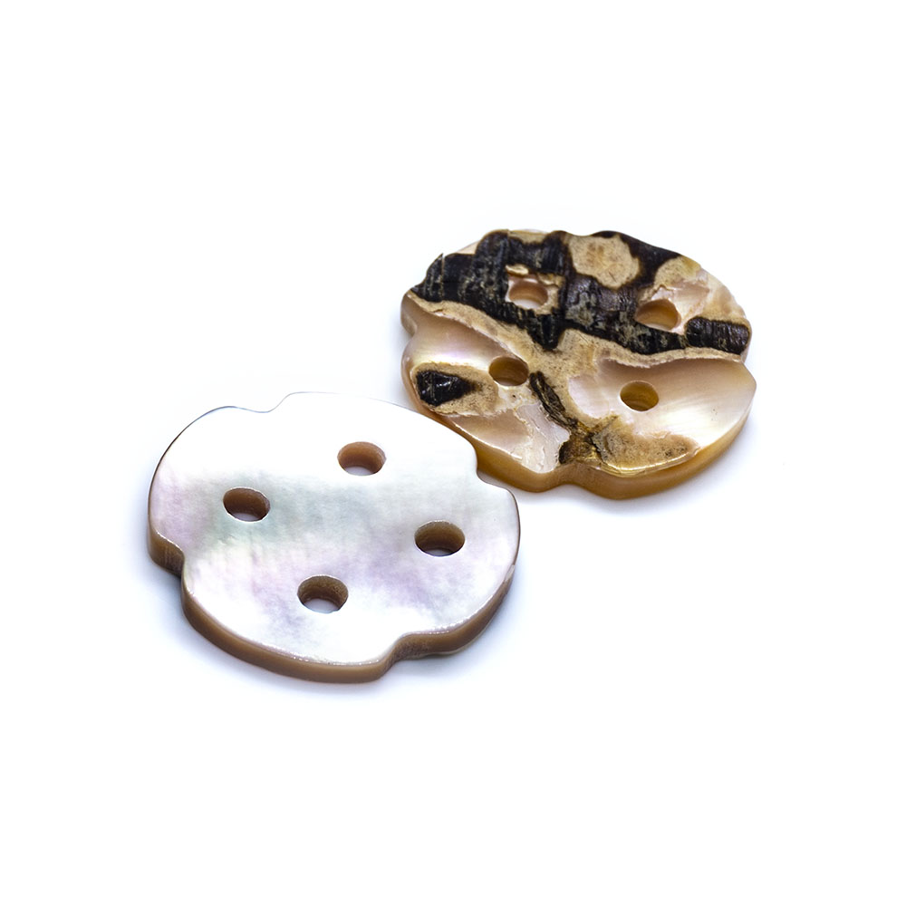 Mother of Pearl Button - 19mm - 2pcs