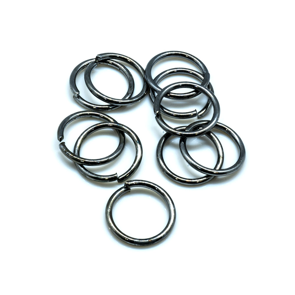 Jump Rings Round - 10x1.2mm - 10pc - Pb Ni Cd Free