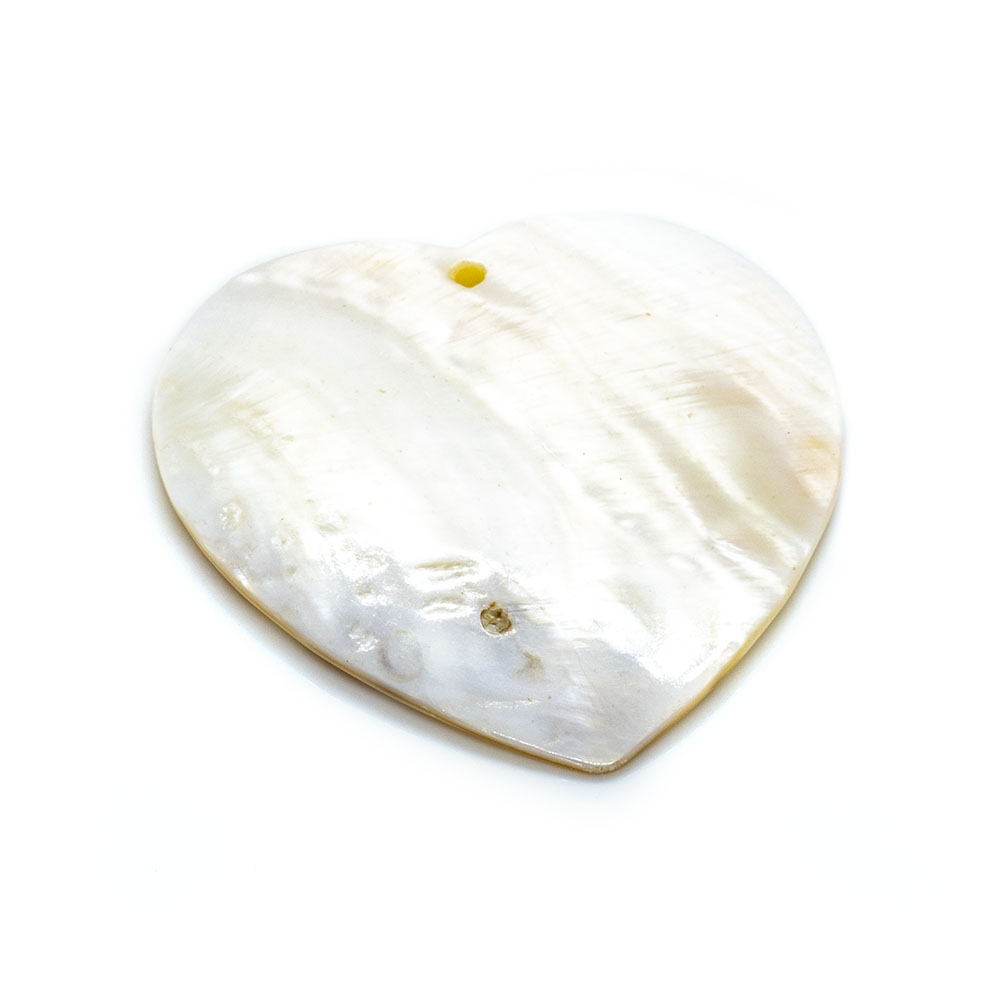 Heart Shell Pendant - 52mm