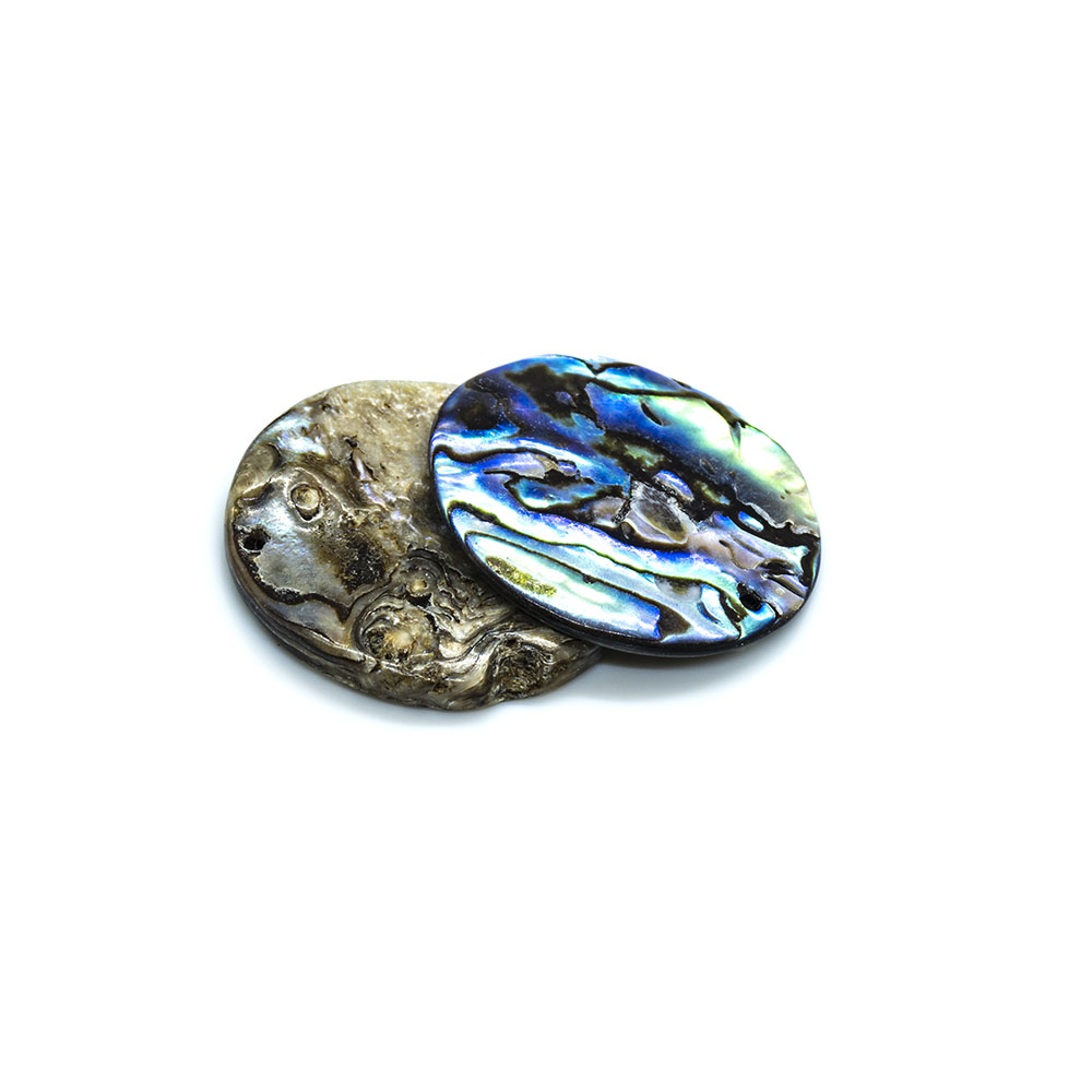 Paua Shell Round - 20mm