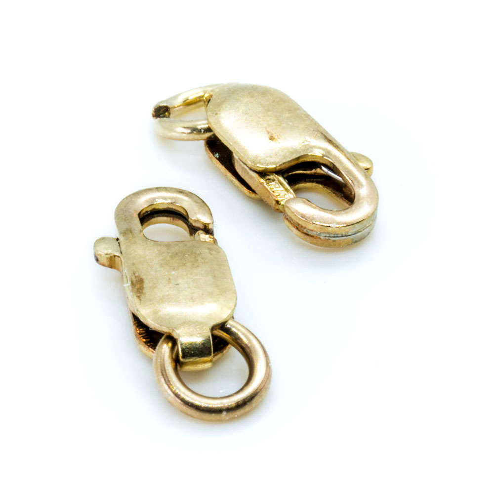 Lobster Clasp - 14k Gold Filled - 8x3mm