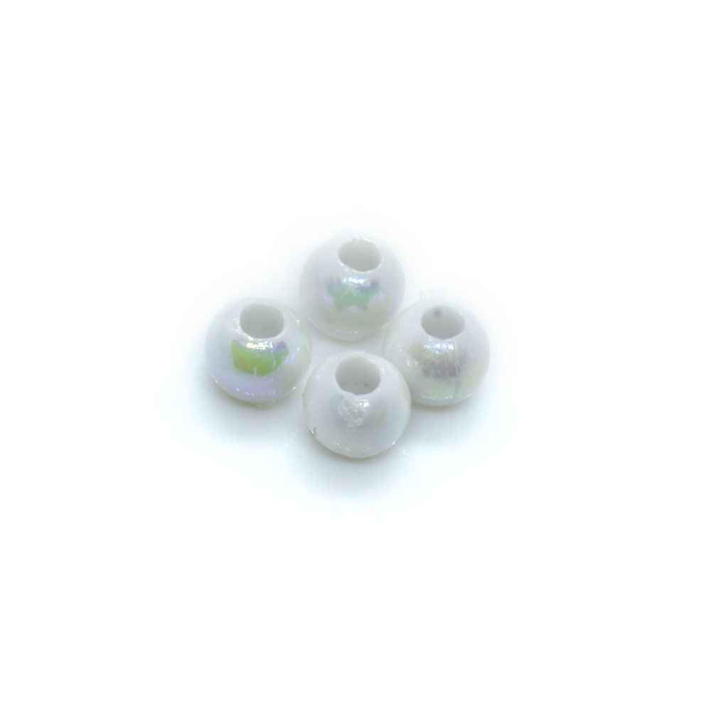 Vacuum Beads  - 4mm - 10pc