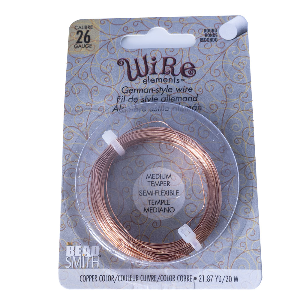 Beadsmith German Style Wire - 26 Gauge - 20m