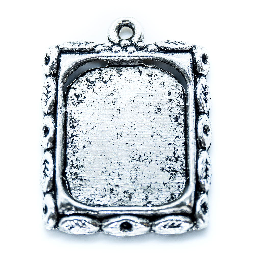 Picture Frame Charm - 26x20mm - 1pc