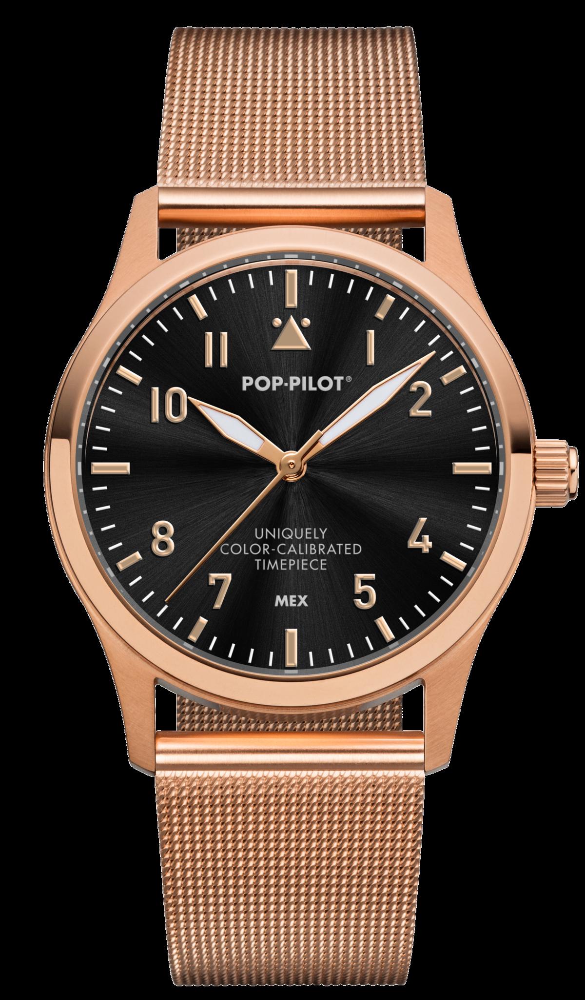 Pop Pilot KTM horloge | Roségoud | 36,5mm