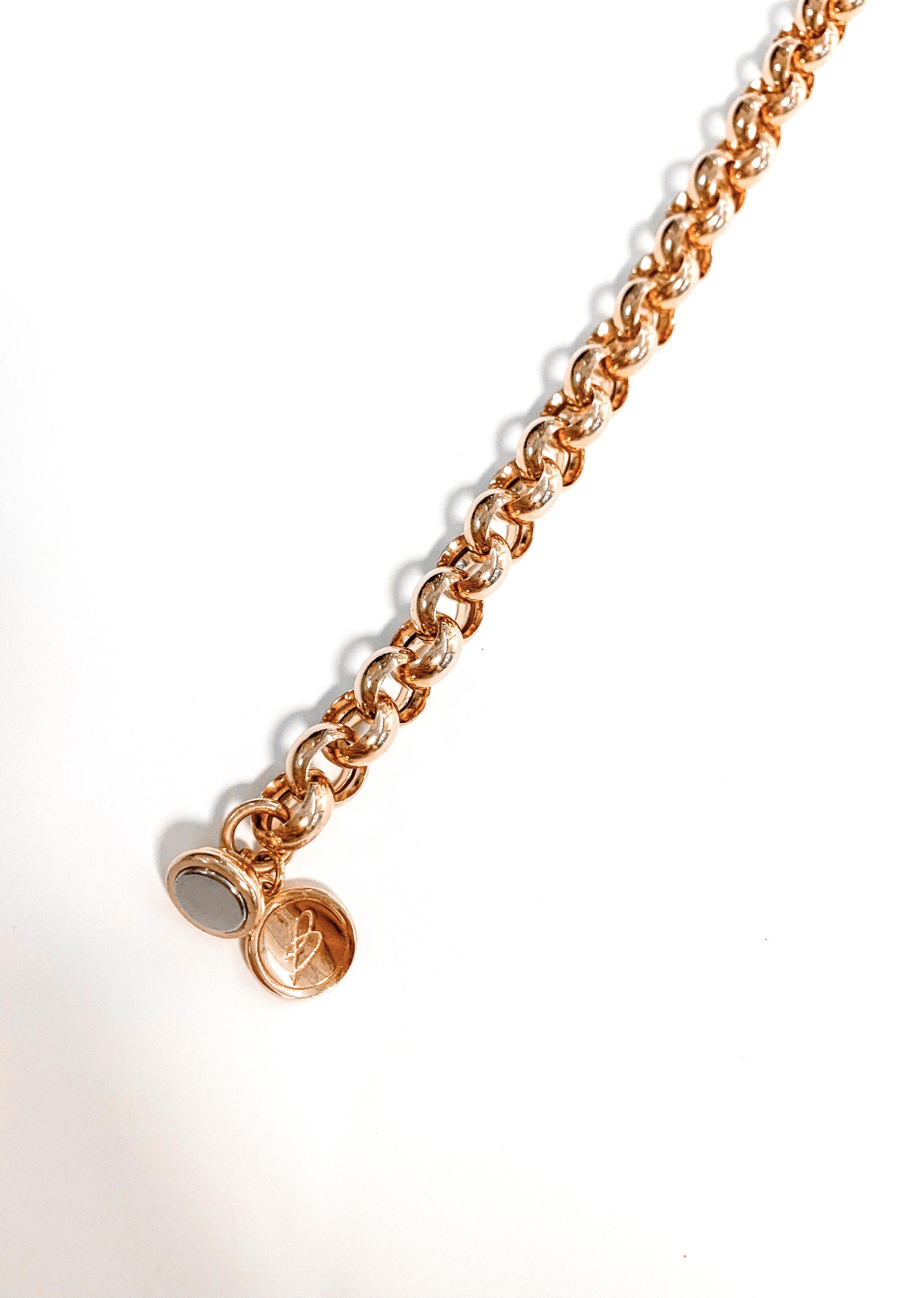 Bronzallure armband Jasseron | Rosé