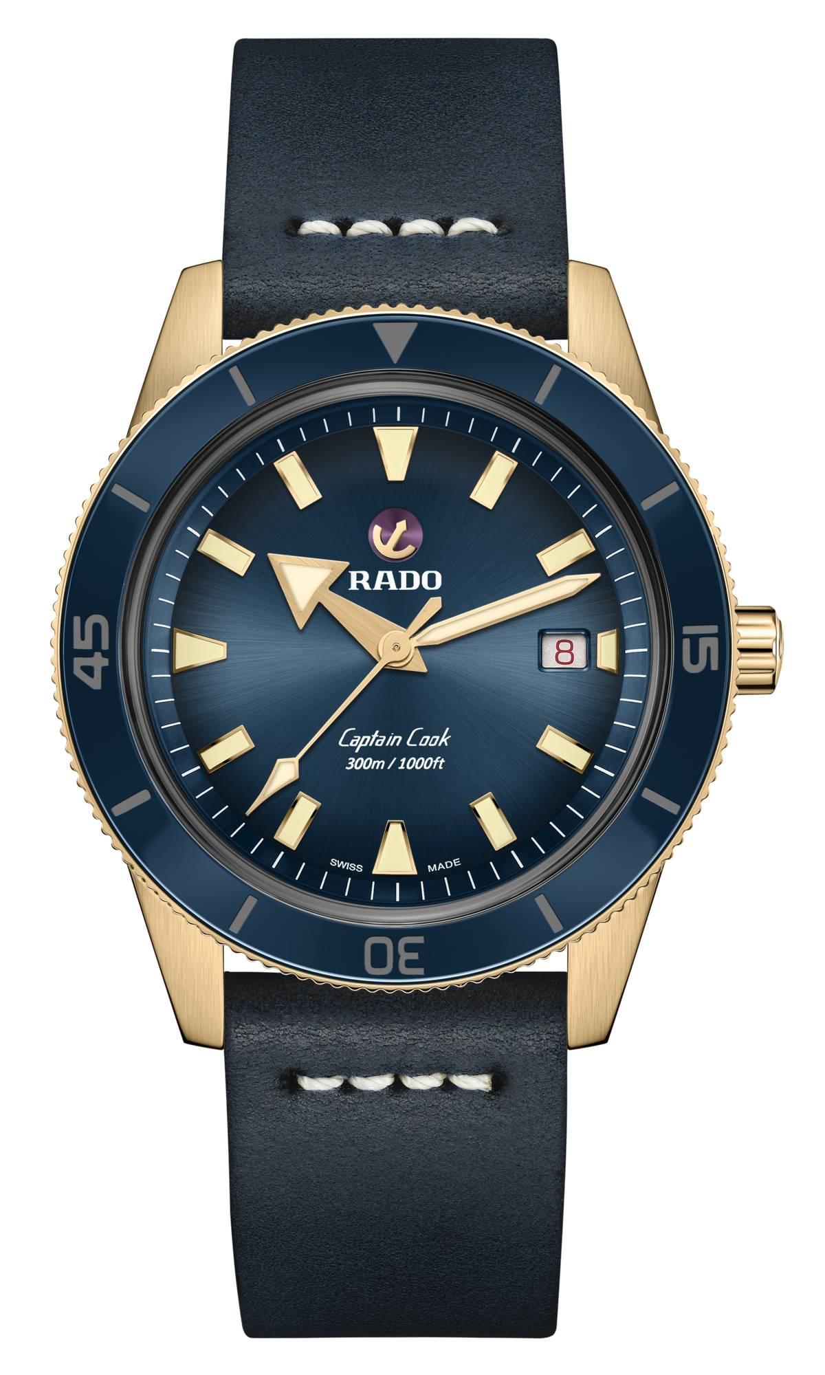 Captain Cook Automatic Bronze horloge | Rado