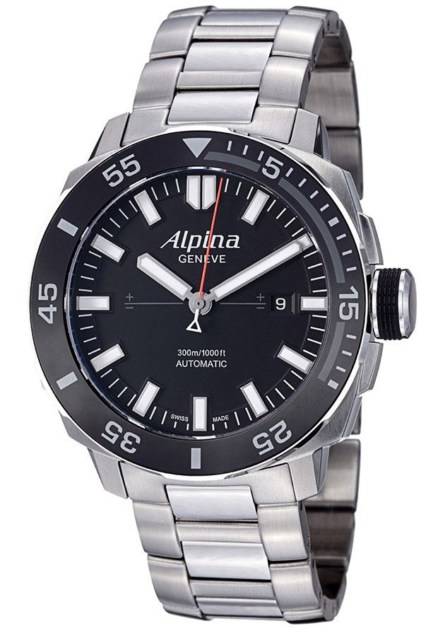 Alpina horloge extreme sailing limited edition   Staal