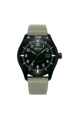 Alpina horloge startimer pilot | Groen