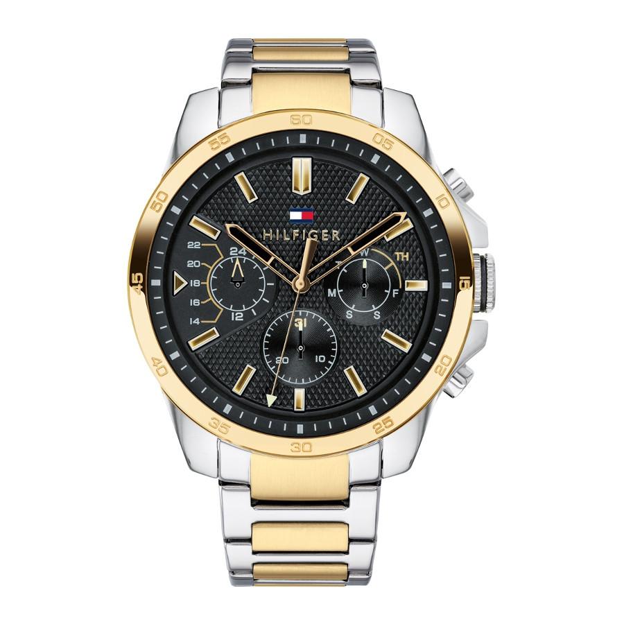 Tommy Hilfiger horloge TH1791559 | zilver/geelgoud