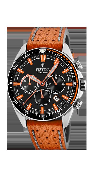 Festina the originals horloge F20377/4 | Oranje