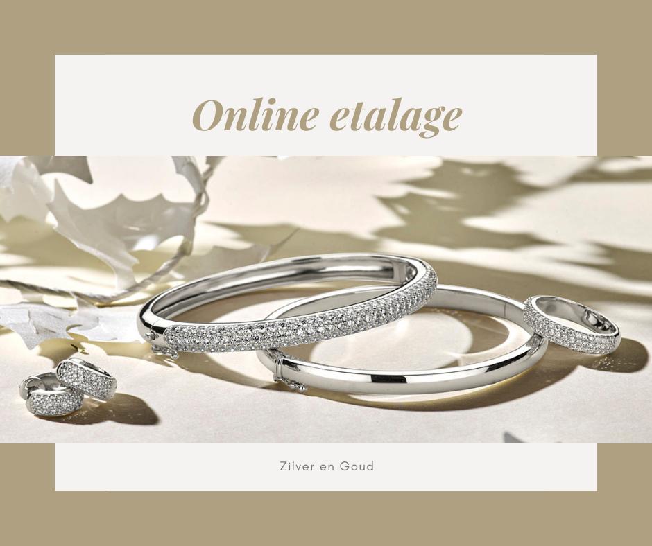 Zilver en Goud sieraden collectie kijken en bestellen