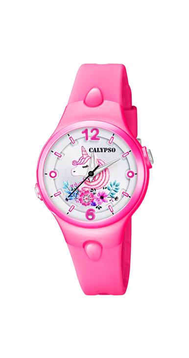 Calypso kinderhorloge Sweet Time | Unicorn Roze