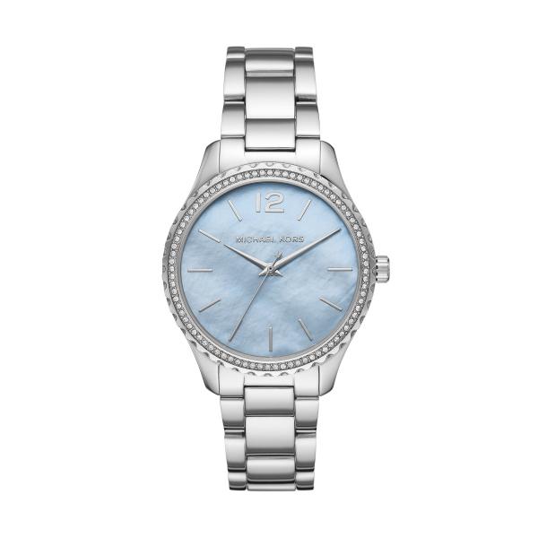 Michael Kors Horloge Layton Dames MK6847 | Zilver