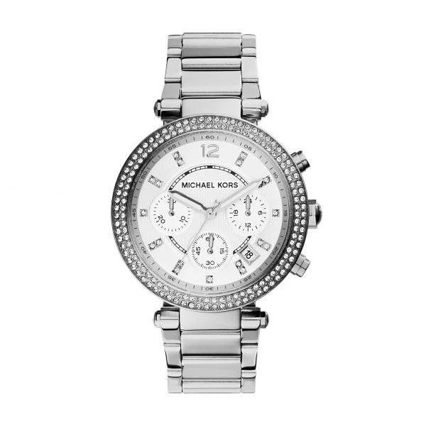 Michael Kors Horloge Parker MK5353 | Zilver