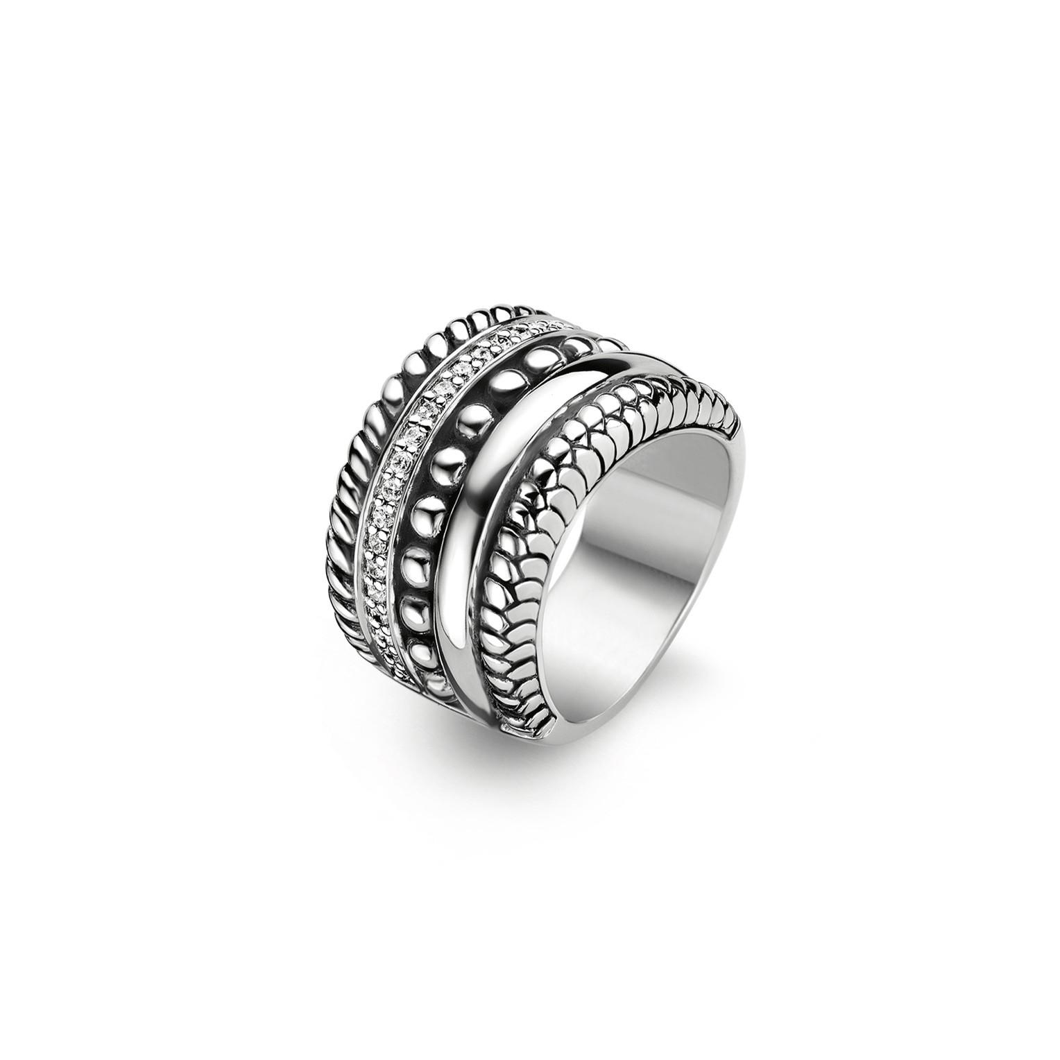 TI SENTO Ring - 1835ZI | Zilver maat 52