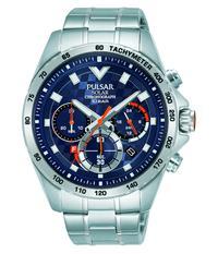 Pulsar Horloge Solar Chronograph PZ5101X1 | Staal