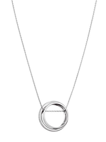 Calvin Klein Collier Unite KJ6AMP080100 | Zilverkleurig