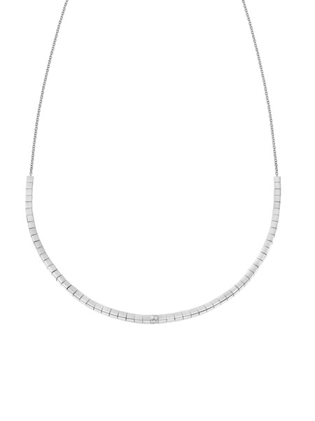 Calvin Klein Collier met Swarovski KJ9MMN040100 | Zilverkleurig