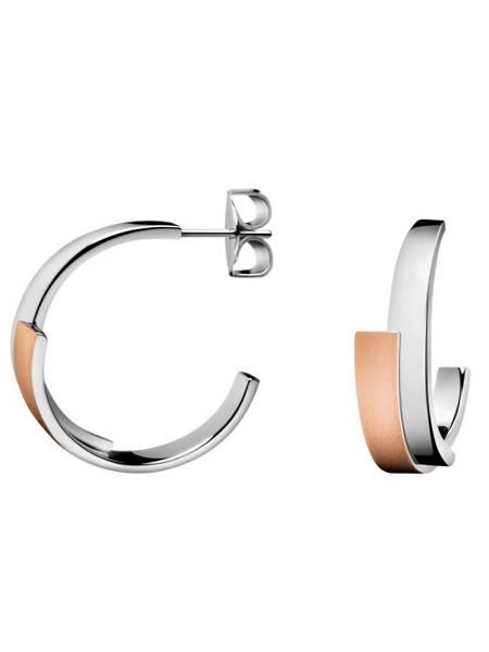 Calvin Klein Oorbellen Intense KJ2HPE280100 | Bicolor