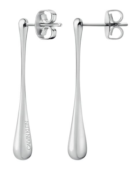 Calvin Klein Oorbellen Ellipse KJDMME000100 | Zilverkleurig