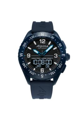 Alpina horloge Hybride Smartwatch AlpinerX AL-283LBN5NAQ6 | Blauw