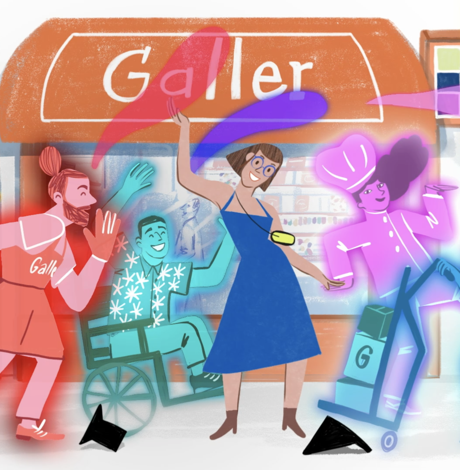 Galler 45 years anniversary campaign