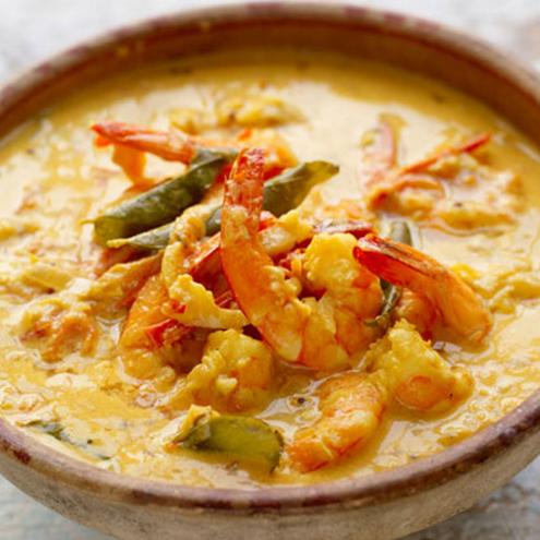 Thai Red Monkfish & Prawn Curry (GF)