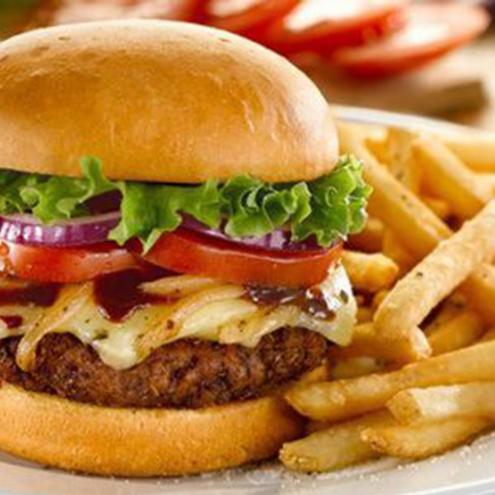 Classic Gourmet Burger 'n' Chips