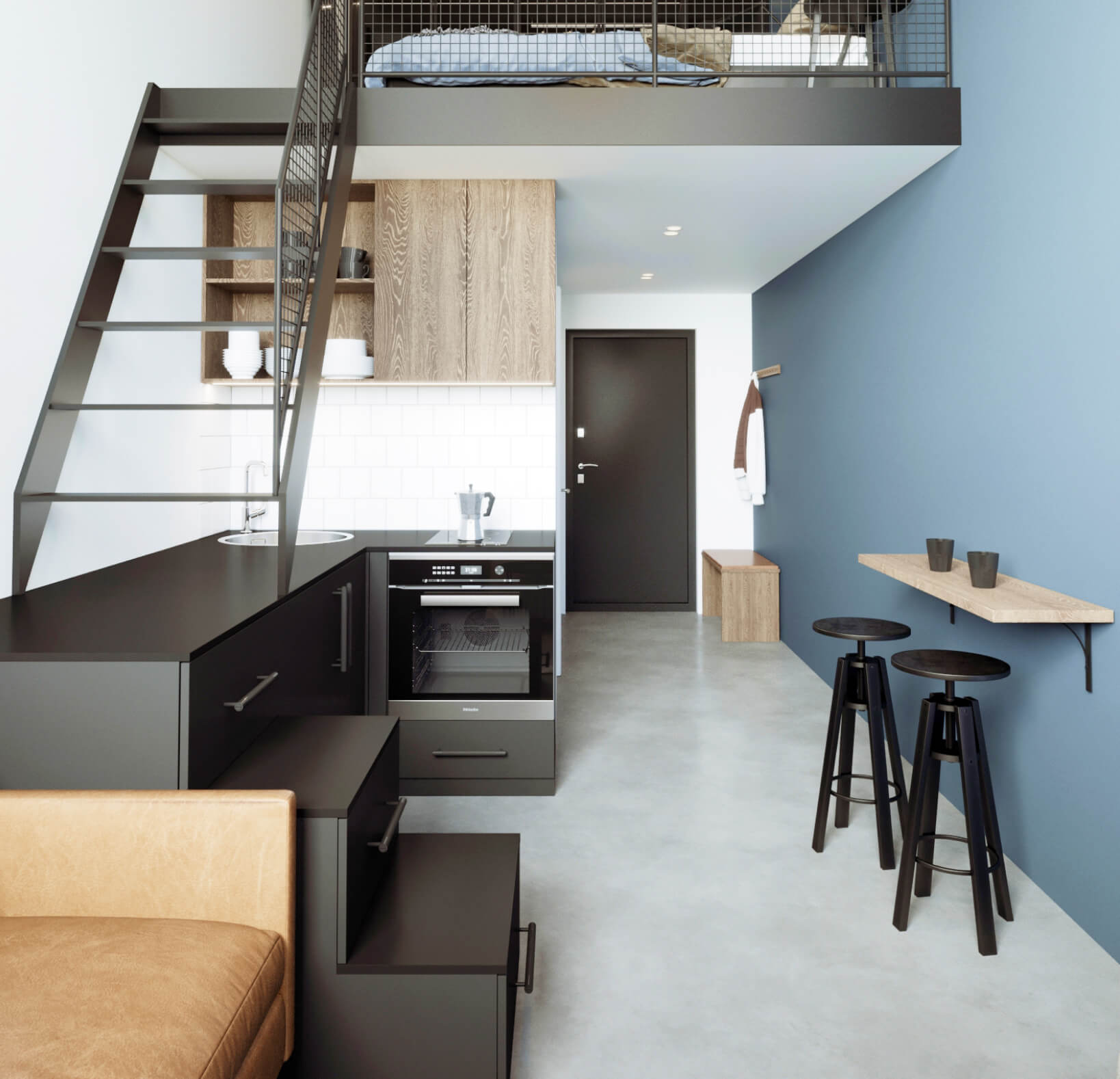 Loft Factory Urban Style Interior