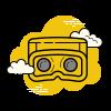 cloudy goggles cartoon