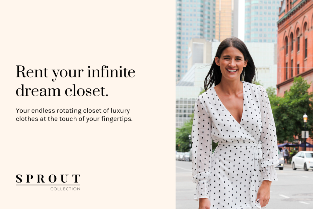 Rent your infinite dream closet from Sprout Collection
