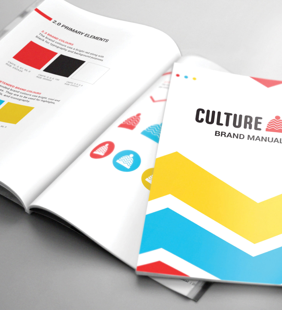Brand Guidelines Book Cover