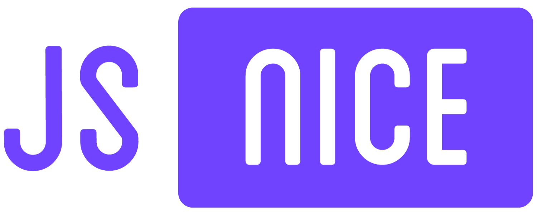 JS Nice Javascript Deobfuscator Logo — by Yagnyuk.