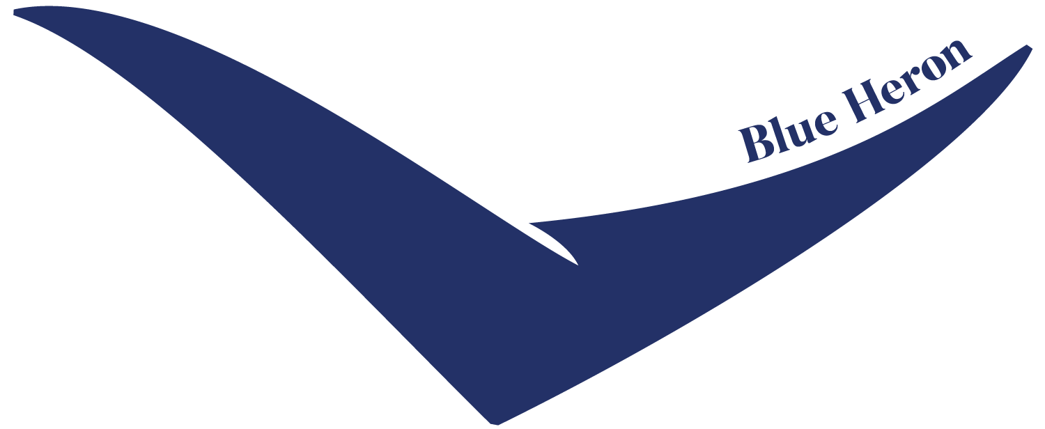 Blue Heron Cheese Logo — by Yagnyuk.