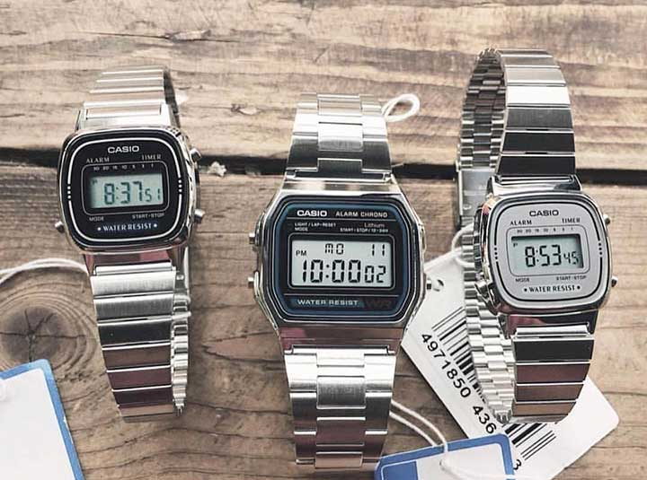 Top 6 đồng hồ Casio nam mặt vuông bán chạy nhất