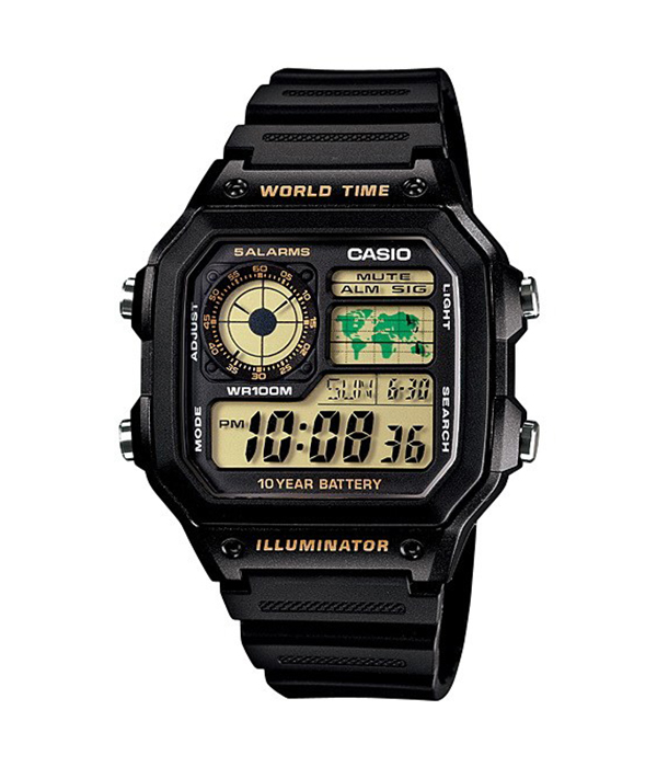 Đồng hồ Casio Standard AE-1200WH-1BVDF