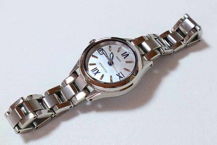 Đồng hồ Casio Oceanus OCW-70PJ-7A2DF dây kim loại