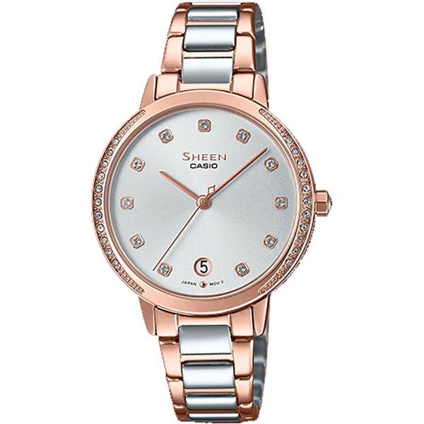 Đồng hồ Casio nữ dây kim loại Sheen SHE-4056SPG-7A