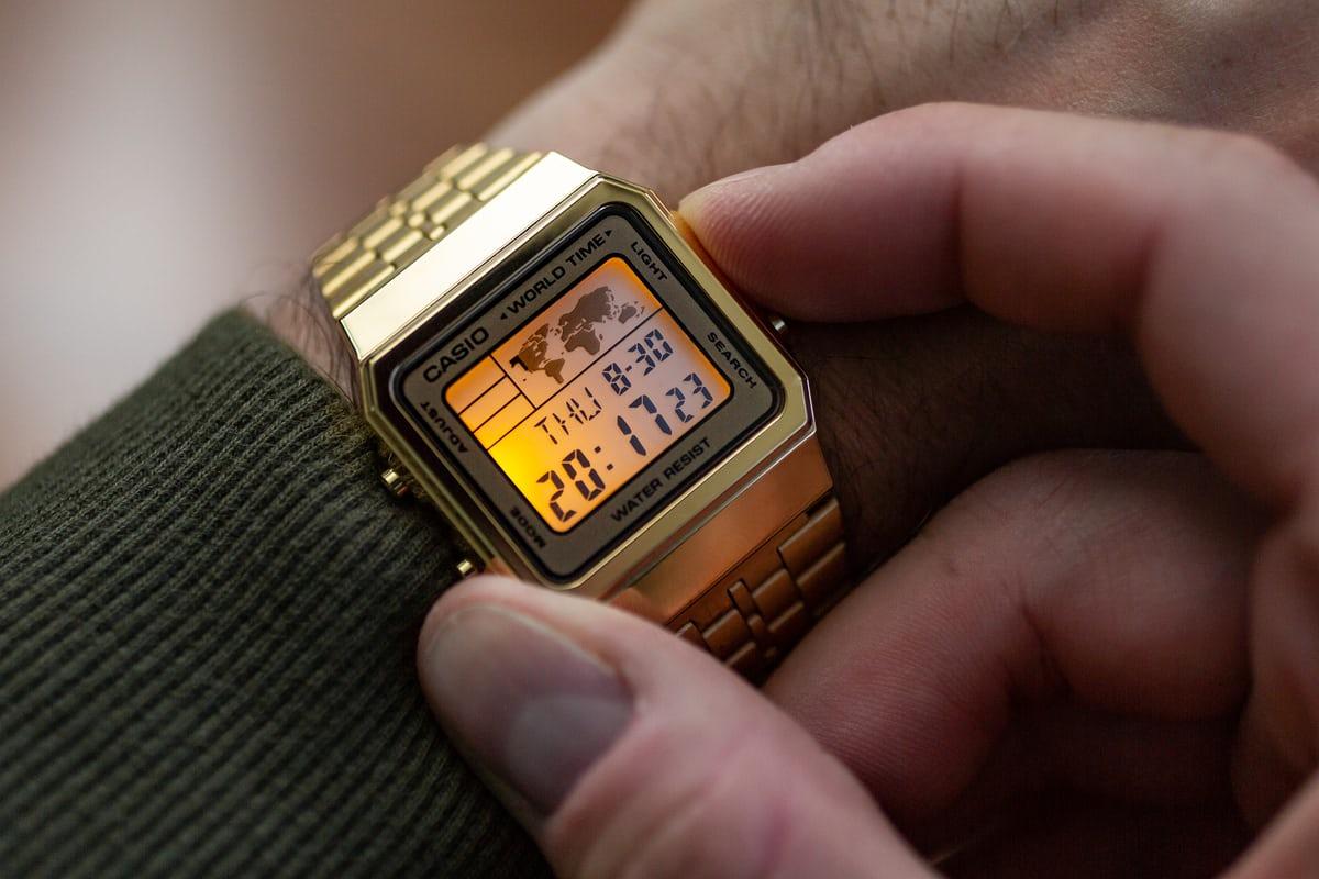 Đồng hồ Casio Gold A500 dành riêng cho nam