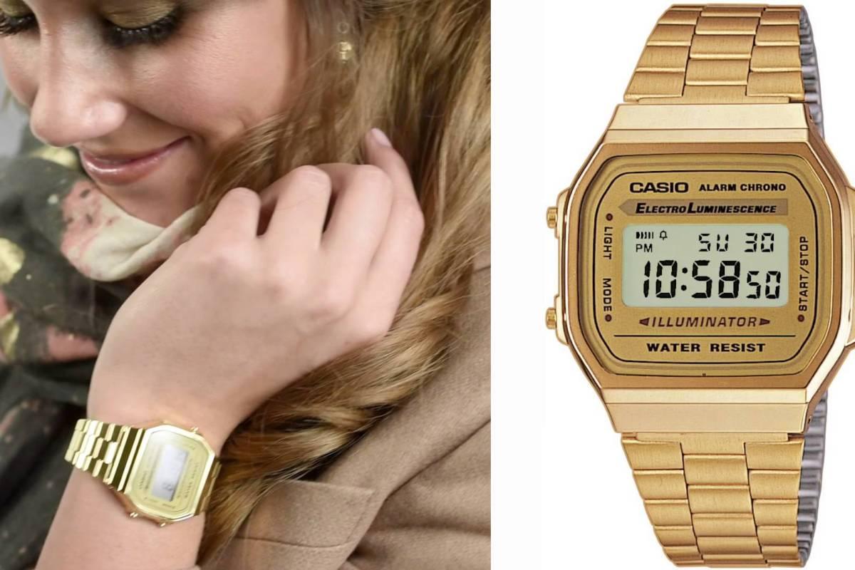 Đồng hồ Casio Gold giúp các quý cô thêm phần sang chảnh