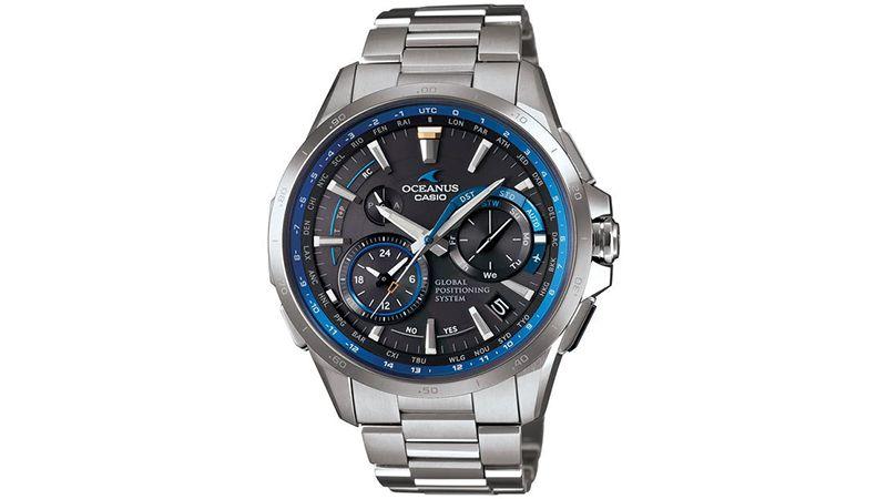 Oceanus OCW-G1000 là mẫu đồng hồ năng lượng mặt trời