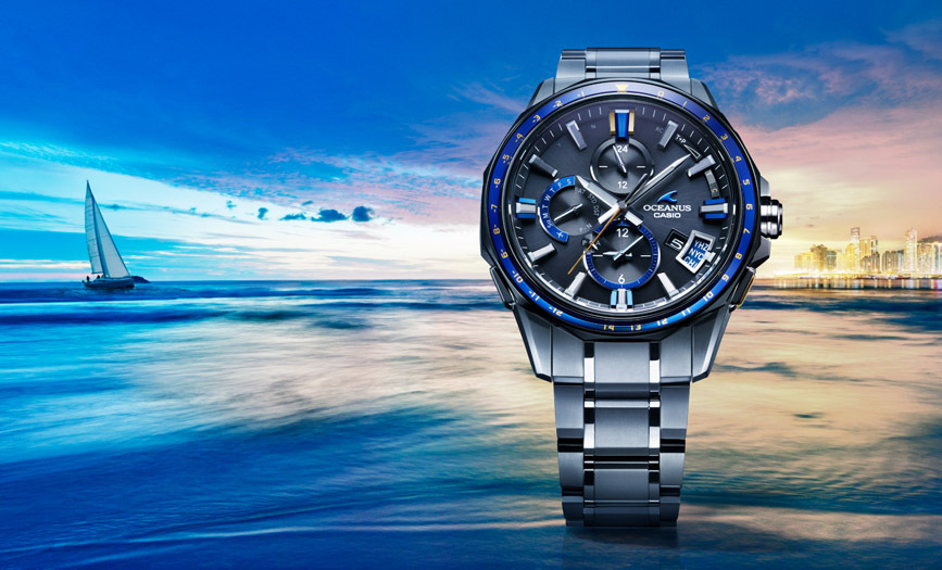 Đồng hồ Casio có ngoại hình ấn tượng