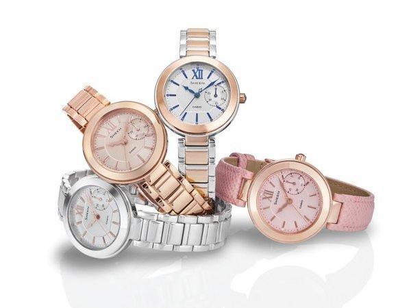 Đồng hồ Casio Sheen dành riêng cho các chị em phụ nữ hiện đại