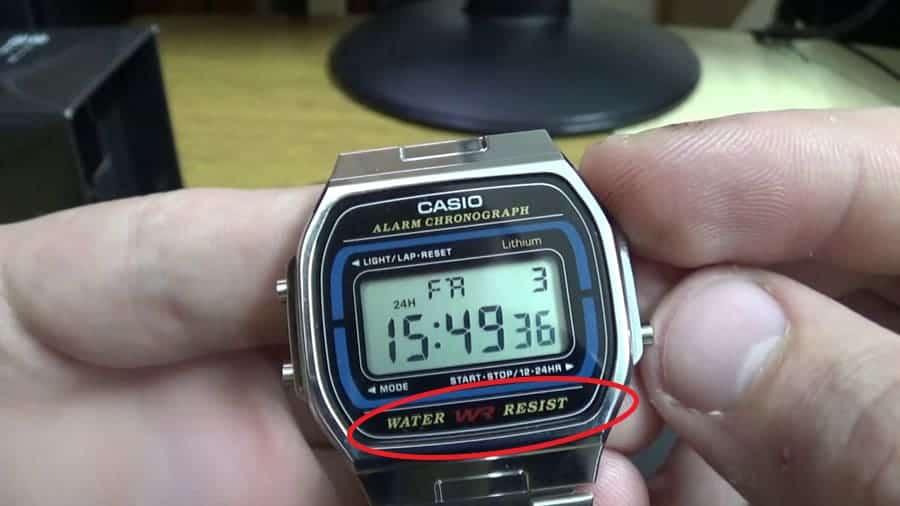 Casio Water Resist là đồng hồ Casio có khả năng chống nước