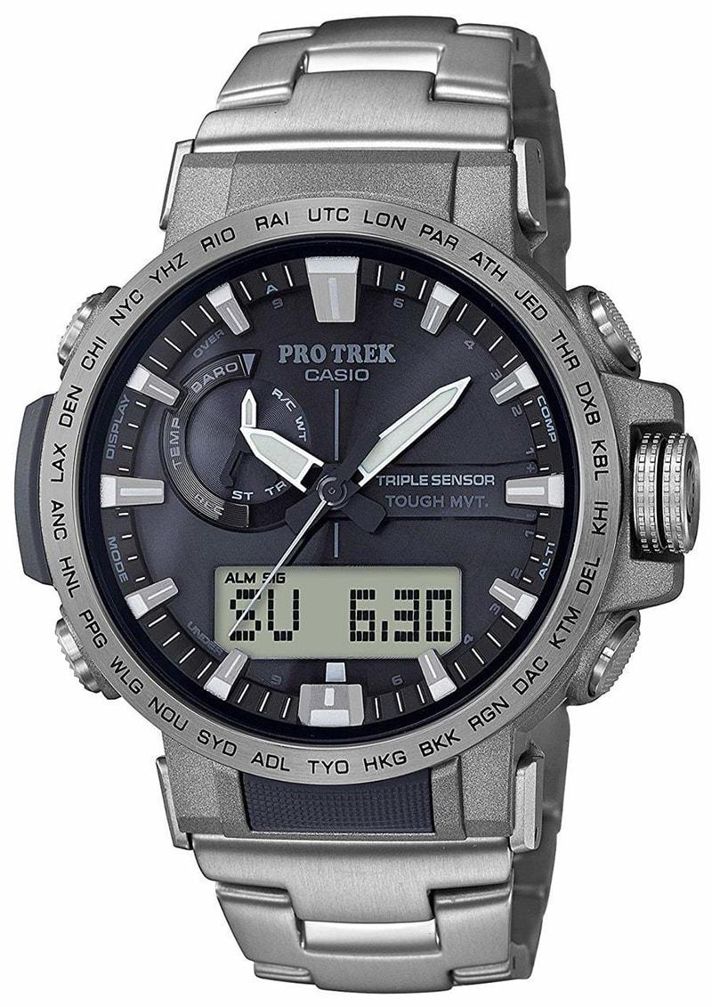 Thông tin cơ bản về đồng hồ Casio Protrek