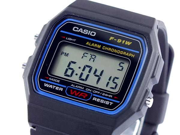 Thiết kế đơn giản của đồng hồ Casio F-91W